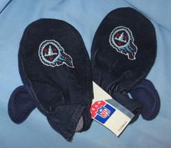Tennessee Titans Mittens Football Team Logo blue adult hand warmer glove... - $17.77