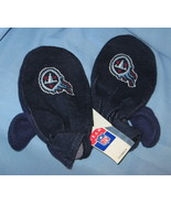 Tennessee Titans Mittens Football Team Logo blue adult hand warmer glove... - $17.77