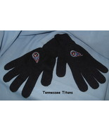 Tennessee Titans Gloves Football Team Logo black adult hand warmer  H14 - $17.77