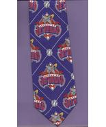 Lancaster Jet Hawks Baseball Team Logo Neck Tie silk purple California s... - $16.77