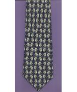 Museum Artifacts Republican G O P Neck Tie blue gray elephant novelty ne... - $37.77