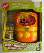 Billion Bubbles Generator bubble maker Machine ... - $27.77