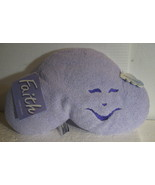 Cuddle Cloud Pillow purple soft Faith baby child washable toy shower gif... - $14.77