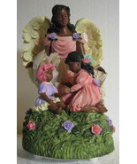 Winged Angel  African American musical Fly Me to the Moon pink  baby gir... - $27.77