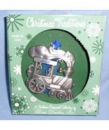 2008 Steam Engine Christmas tree metal ornament holiday USA Gloria Duchi... - $16.77