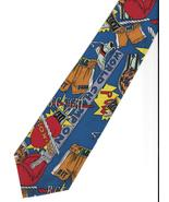 Florence Neck Tie novelty Boxing sport gloves shorts gift  necktie graph... - $21.77