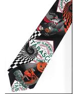 Tabasco Pepper Sauce Logo Neck Tie Halloween pumpkin witch novelty neckt... - $27.77
