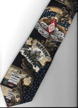 Tabasco Pepper Sauce  Logo Necktie Oysters shell  novelty blue Neck Tie N3 - $27.77