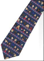 Save the Children Collection Neck Tie silk charity artist Lauren novelty... - $24.77