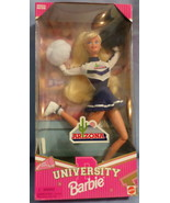 Mattel Barbie Doll University Arizona Cheerleader 1996 blue  white unifo... - $47.77