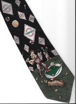 Tabasco Pepper Sauce Logo Neck Tie Golfer sport golf clubs novelty neckt... - $27.77