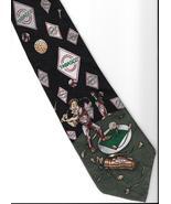 Tabasco Pepper Sauce Logo Neck Tie Golfer sport golf clubs novelty neckt... - $27.77
