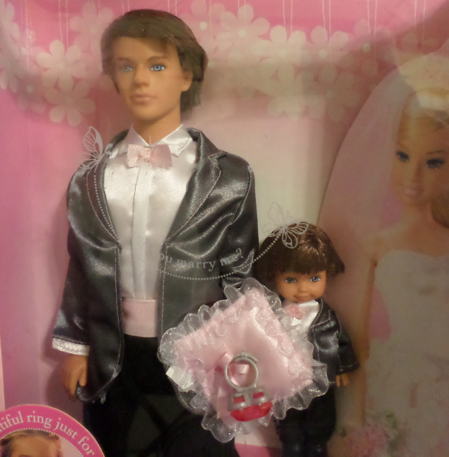 Ken ring bearer dolls