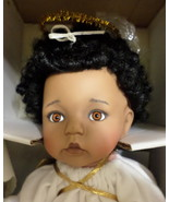 Ashton Drake Galleries Angel Face baby Doll 1994 African American porcelain - $77.77