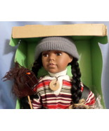 Seymour Mann Connoisseur Collection Doll girl toddler African American  - $77.77