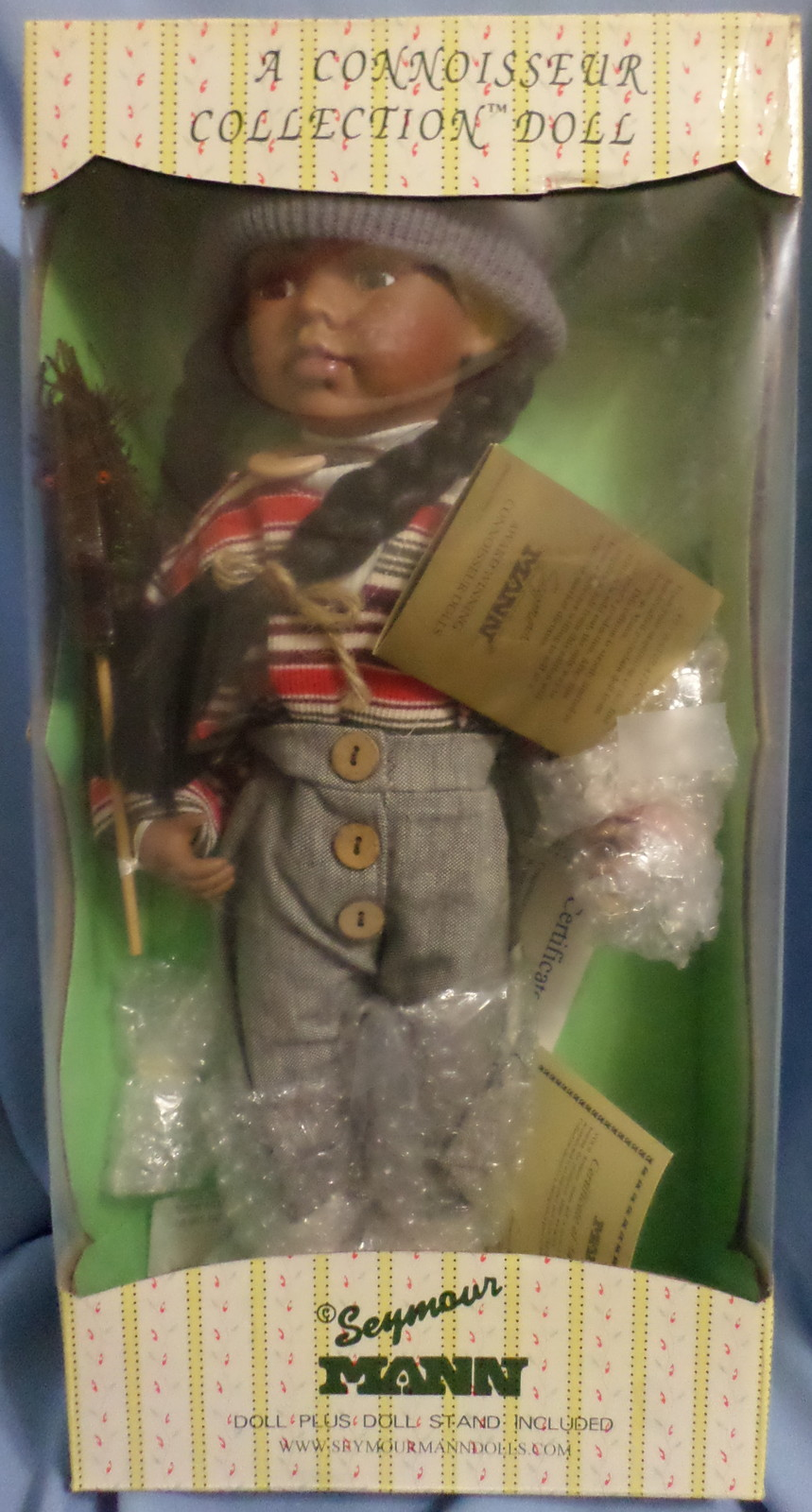 Seymour Mann Connoisseur Collection Doll girl toddler African American