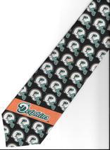 Miami Dolphins Football Team  Logo Neck Tie sport helmet NFL novelty nec... - $27.77