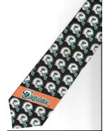 Miami Dolphins Football Team  Logo Neck Tie sport helmet NFL novelty nec... - $27.77