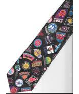Surrey NBA Team Logo Neck Tie 1994 WALLYWEAR  basketball novelty necktie N3 - $29.77