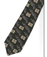 National D-Day Museum Necktie military green gray Silk dress casual neck... - $37.77