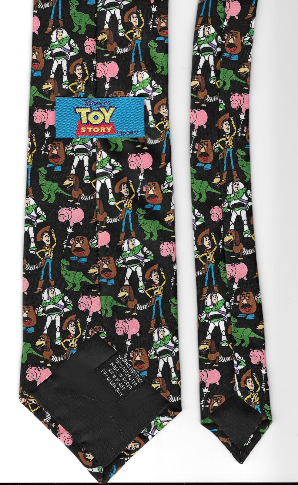 Disney Toy Story Necktie 1995 novelty characters casual neck tie N1
