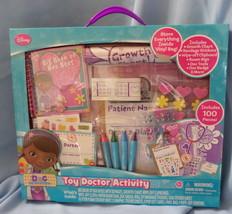 Disney Doc McStuffins Toy Doctor Activity Kit 2014 unisex age 3+ play se... - $19.77