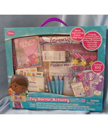 Disney Doc McStuffins Toy Doctor Activity Kit 2014 unisex age 3+ play se... - $19.77