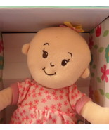 Wee Baby Stella 2014 girl Doll soft Manhattan Toy Co bald peach infant H27 - $24.77