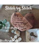 Stitch By Stitch #3 Tender Heart Series cross stitch chart Blackbird Des... - $9.00
