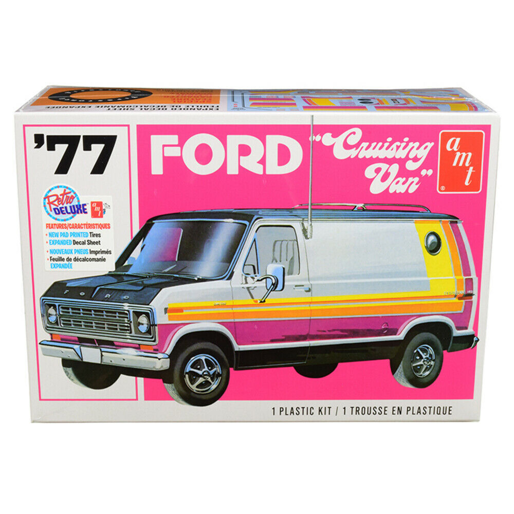 Primary image for Skill 2 Model Kit 1977 Ford Cruising Van 1/25 Scale Model by AMT AMT1108M