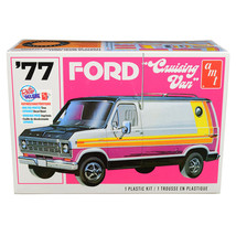 Skill 2 Model Kit 1977 Ford Cruising Van 1/25 Scale Model by AMT AMT1108M - $54.94