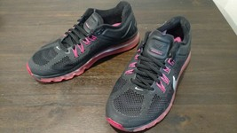 Youth's Nike Air Max GS Black Sliver Red Pink Size 7Y 555753 001  MSP$140 - $49.99