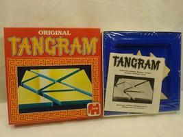 GAME PUZZLE NEW NOS RARE VINTAGE ORIGINAL TANGRAM 1984 NETHERLANDS - $28.00