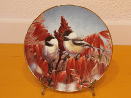 "The Hamilton Collection ""Autumn's Elegance"" from A Garden Song Plate Series - $11.00"