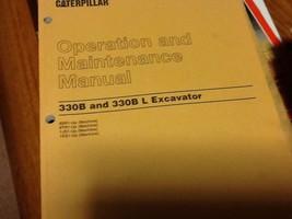 CAT CATERPILLAR 330 B L EXCAVATOR  OPERATION  85R1 BTR1   UP - $346.49