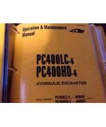 KOMATSU PC400LC-6 PC400HD-6 EXCAVATOR SERVICE SHOP MANUAL OPERATIONS   A... - $296.99