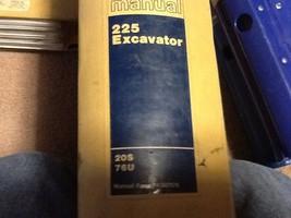 Caterpillar  Cat Service Manual 225 Excavator  20 S 76 U  Free Shipping - $346.49