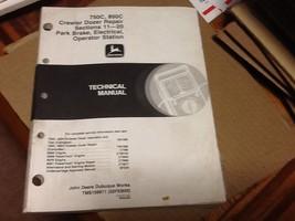 JOHN DEERE REPAIR  MANUALS MANUAL   SECTIONS 32 00  1 2   3  4-7  11 12 - $593.99