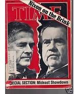 Time Magazine Nixon on the Brink  October 29, 1973 - $14.84