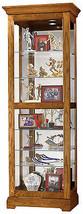 Howard Miller 680-471 (680471) Moorland Lighted Curio Cabinet - Legacy Oak - £898.49 GBP