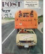 The Saturday Evening Post September 10, 1955 - FULL MAGAZINE - $19.75