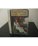 RUTH FIELDING in the SADDLE #12 ALICE EMERSON FORMAT #3 DJ - $14.99
