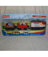 Fisher Price GeoTrax Rail and Road System Retir... - $41.95