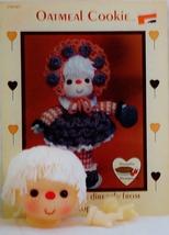 Dumplin Designs Oatmeal Cookie Crochet Pattern Leaflet CDC407 and Yarn D... - $16.50