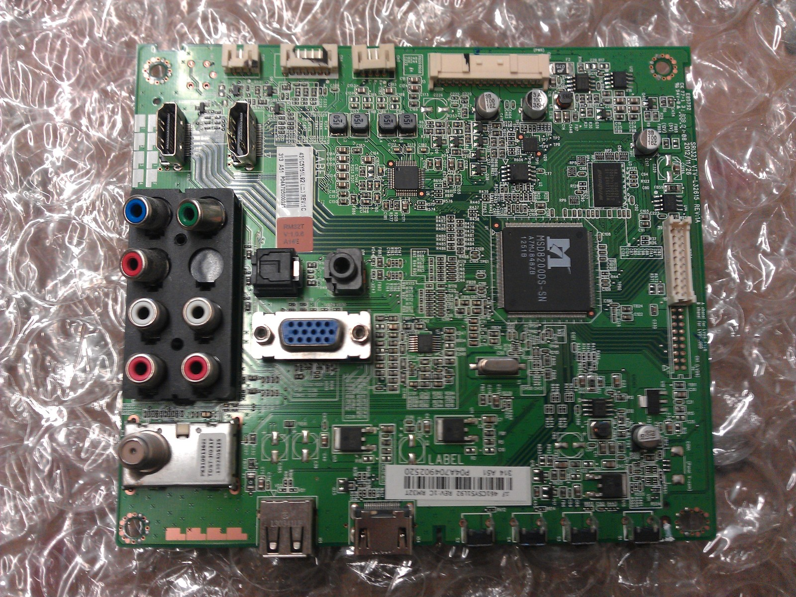 75033877 ( 461C5Y51L92 )  Board From Toshiba 32L1350U1 LCD TV