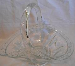 Vintage Large Clear Pressed Glass Easter or Bri... - $25.45