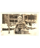 Ernest Hubbard Kellogg baby photograph 1935 vintage original - $9.99