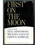 First On Moon Voyage Neil Armstrong Michael Collins Edwin E. Aldrin Jr v... - $12.00