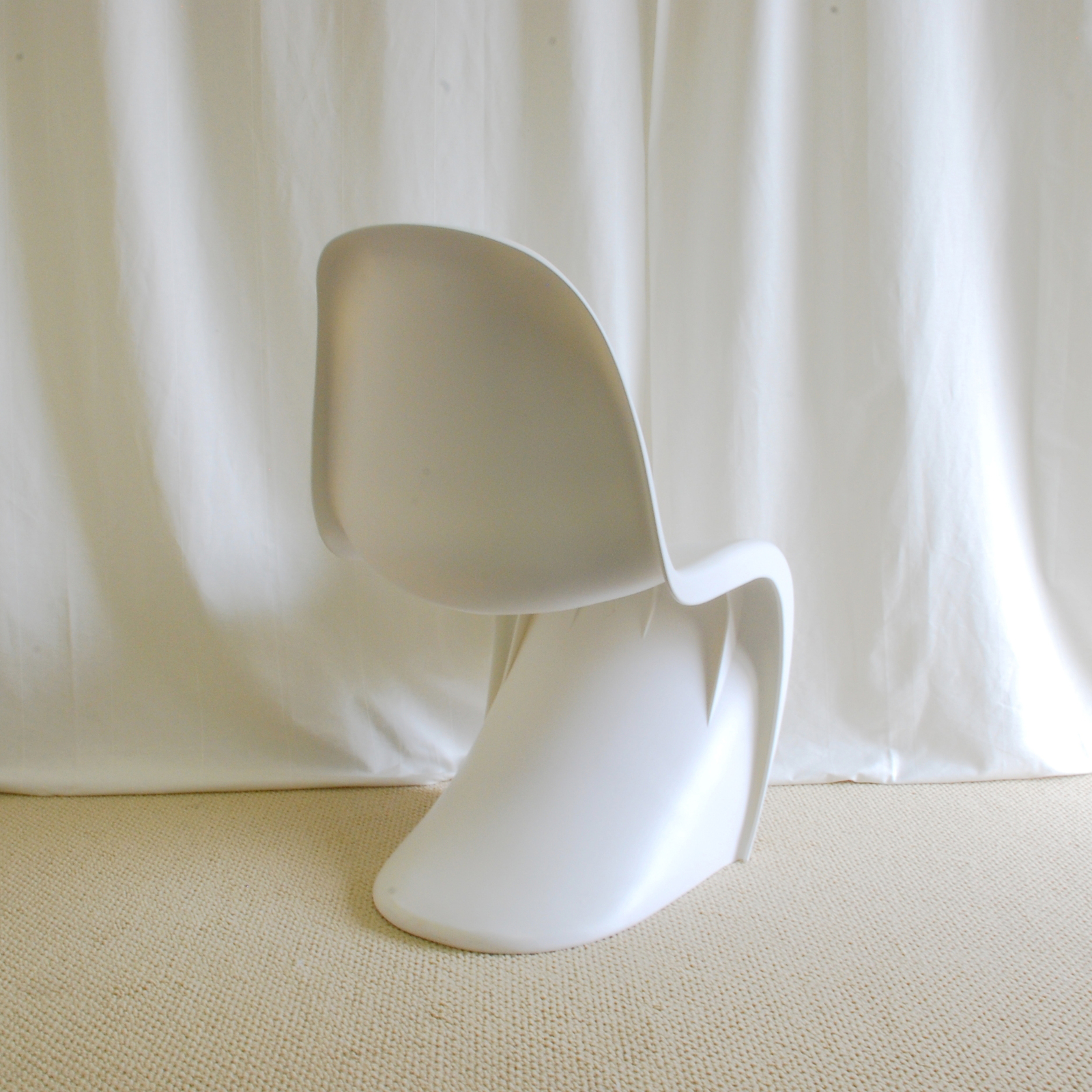 EZmod Furniture Mid Century Modern Panton Style S Chair-Matte Finish (Free Shipp