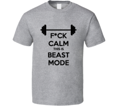 This Is Beast Mode Workout Bodybuilding T Shirt - $21.99+